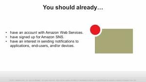 amazon sns getting started with amazon sns push notification service on aws