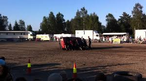 monster truck stunt show monster truck stunt show car rolling youtube
