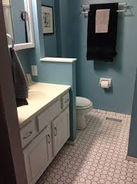oh what a gem small bathroom redone in a big way