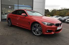 red bmw 2017 used 2017 bmw 4 series 430d m sport 2dr auto professional media