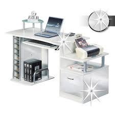 bureau blanc brillant bureau informatique très brillant blanc s 202a 732 achat