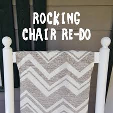 Mother S Rocking Chair We Can Make Anything Rocking Chair Redo