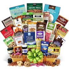 international gift baskets international snack gift basket jumbo by gourmetgiftbaskets