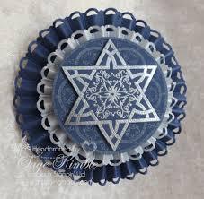 handmade hanukkah ornament sting madly