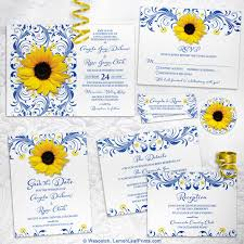 Sunflower Wedding Invitations Ideas For Throwing The Perfect Recipe Or Kitchen Themed Bridal