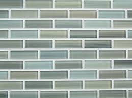 White Backsplash Tile For Kitchen Outofhome Subway With Icon On - Blue glass tile backsplash