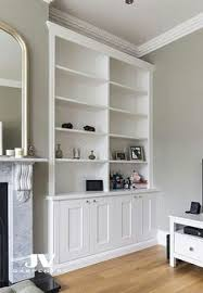 Built In Bookshelves Bespoke Bookcases London Furniture by Fitted Alcoves Cupboard With Floating Shelves Chiswick U2026 Pinteres U2026