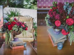 event flowers bohemian birthday garden party flowers in