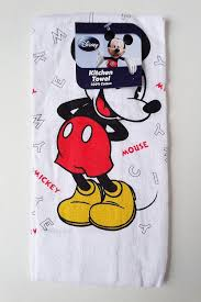 amazon com disney mickey mouse classic kitchen towel 1 home