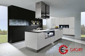 grey modular kitchen design ideas gagan enterprises