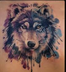 41 best 3d wolf tattoos watercolors images on pinterest wolves