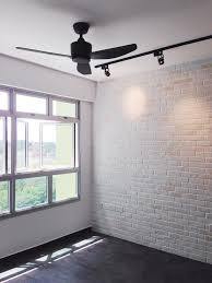 Feature Wall In Master Bedroom Feature White Brick Wall For Living Room And Masterbedroom