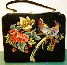 68 best antique needlepoint purses images on vintage