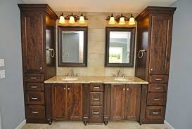 bathroom custom cabinets with white color ideas home interior