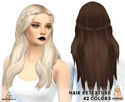 cc hair for sism4 gallery custom content for sims 4 black hairstle picture