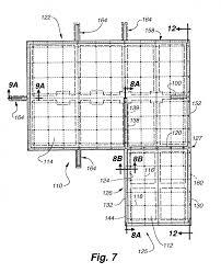 slab floor plans patent us20030233798 post tensioned below grade concrete slab