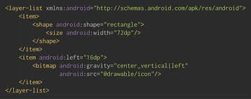 android bitmap simplifying layouts with layer list drawables androidpub