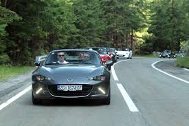 mazda foreign age of enlightenment with a mazda mx 5 rf on the transfagarasan