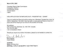 visa invitation letter example example invitation letter for visa
