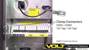 Landscape Lighting Transformer - volt clamp connect led transformers for landscape lighting youtube