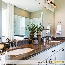 beautiful master bath by candlelight homes white cabinets and
