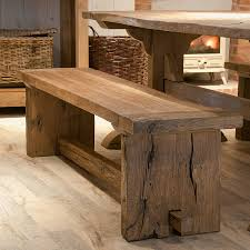 Benches For Dining Room by Reclaimed Oak Monastery Dining Bench By Mobius Living