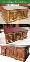 Resolute Desk Solid Mahogany Resolute Desk Presidential Desk Solid Mahogany
