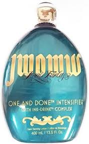 tanning bed lotion one and done intensifier tanning bed lotion
