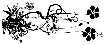 tulip tattoos black and white cool eyecatching tatoos clip art