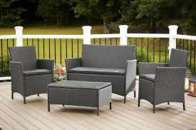 All Weather Wicker Patio Furniture Sets Grey Resin Wicker Patio Furniture Sets Optimizing Home Decor