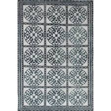 Jules Area Rug Turquoise And Brown Area Rug Wayfair