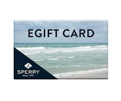 e giftcard gift cards sperry top sider