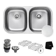 Kraus Outlast MicroShield ScratchResist Stainless Steel - Kitchen bowl sink