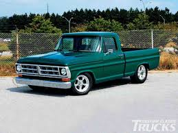 ford truck red the revival big red enthusiasts forums the dark green ford truck