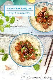 cuisiner le gingembre tempeh laqué à l ail au gingembre vegan la gourmandise