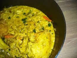 comment cuisiner le choux tajine de poulet chou vert au lait de coco ou comment faire manger