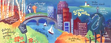 Massachusetts scenery images Scenic boston massachusetts by jessica flannery they draw travel jpg