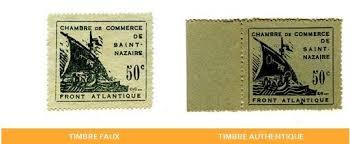 chambre de commerce nazaire comment détecter un faux timbre chambre de commerce de st nazaire