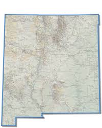 Philmont Scout Ranch Map New Mexico Space Trail Map