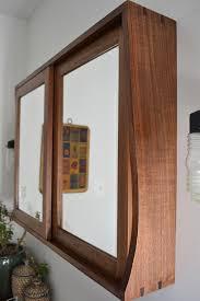 sliding door medicine cabinet sliding door custom walnut medicine cabinet мебель pinterest