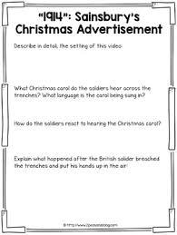 christmas truce of 1914 media analysis unit by 2peasandadog tpt