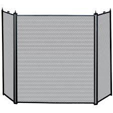 fetching single panel fireplace screen with doors door panel