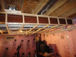 framing around ductwork in basement basement ideas