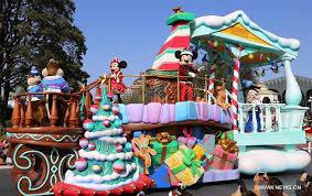 parade kicks in tokyo disneyland xinhua