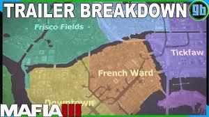 New Orleans District Map by Mafia Iii New Bordeaux Districts Trailer Breakdown Youtube