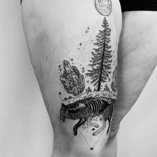 best pine tree tattoos and meanings 2018