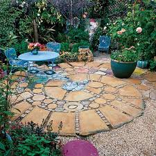 Rock Patio Design 40 Ideas For Patios Sunset Magazine Patios Concrete And