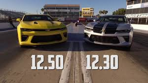 2010 camaro ss 6 2 specs 2016 chevy camaro ss drag test auto vs manual with jeff lutz at