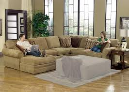 Corduroy Sectional Sofa 3 Pc Modern Brown Corduroy Sectional Sofa Living Room Set With