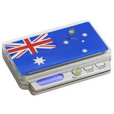 Aussie Flag On Balance Truweigh Aussie Flag Scale 100g X 0 01g U2013 Australian